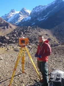 Fieldwork LiDAR argentina