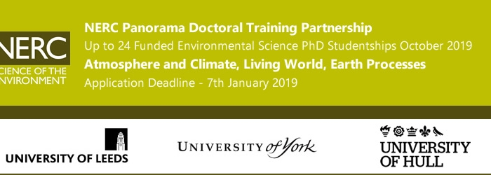2019.01 | PhD opportunities at University of Leeds